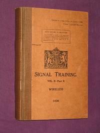 Signal Training Vol. II (2) - Part II (2) Wireless 1936