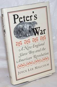 image of Peter's war; a New England slave boy and the American revolution