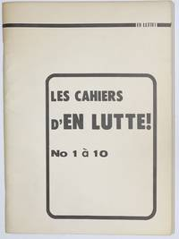 image of Les Cahiers d'EN LUTTE! No 1 à 10
