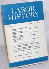 image of Labor history. vol 12, no. 1 Winter, 1971
