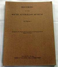 Records of the South Australian Museum Volume VII, No 3, May 30, 1943