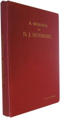 D.J. Densmore and the Densmore Memorial Tourney 1918