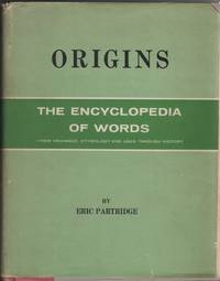 image of Origins: a Short Etymological Dictionary of Modern English
