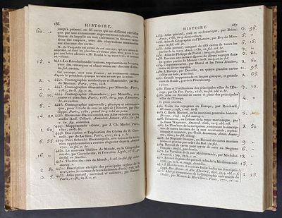 Catalogue Des Livres Manuscrits Et...
