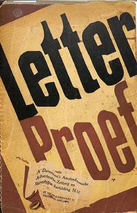Letterproef N.V. Damman's Amsterdamsche Advertentie-Zetterij, 1948.