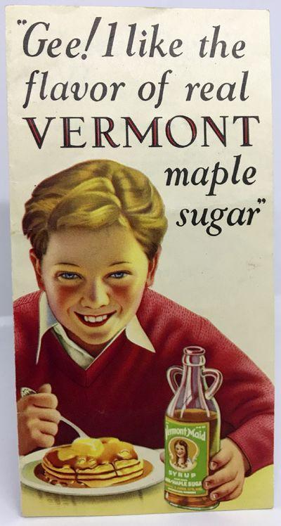 Burlington, VT: Penick & Ford, Ltd., Inc., 1930's. Loose-leaf. Color illustrated pamphlet. Very good...