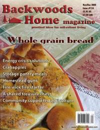 Backwoods Home Magazine November/December 2008