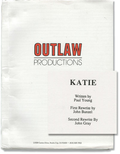 Culver City, CA: Outlaw, 1994. Revised Draft script for the 1995 film, here under the working title ...
