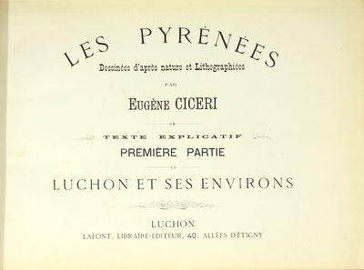 Les Pyrenees dessinées d'après...