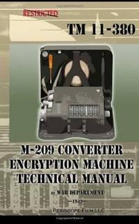 M-209 Converter Encryption Machine Technical Manual