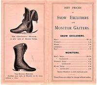 1840-1875.  SPECIALTIES IN ARCTIC GAITERS, MANUFACTURED EXCLUSIVELY BY THE NATIONAL RUBBER CO., PROVIDENCE, R.I.