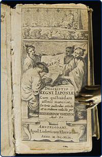Descriptio regni Iaponiae. Cum quibusdam affinis materiae, ex variis auctoribus collecta et in ordinem redacta. by  Bernhardus Varenius - First Edition - 1649 - from Philadelphia Rare Books & Manuscripts Co., LLC (PRB&M)  (SKU: 35534)