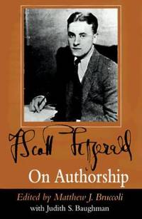 F. Scott Fitzgerald on Authorship