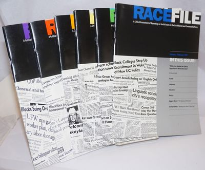 Oakland: Applied Research Center, 1997. Magazine. Six issues of the bimonthly journal, a complete ru...