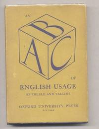 AN A.B.C. OF ENGLISH USAGE