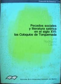 Pecados sociales y literatura satírica en el siglo XVI. Los Coloquios de Torquemada.