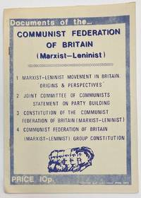 image of Documents of the Communist Federation of Britain (Marxist-Leninist)