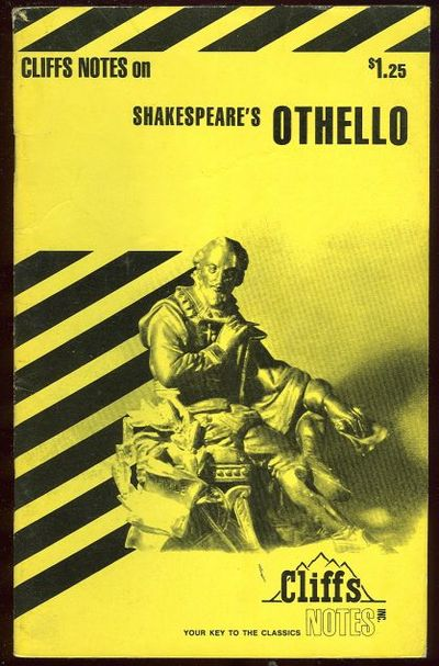 CLIFFS NOTES ON SHAKESPEARE'S OTHELLO, Roberts, James editor