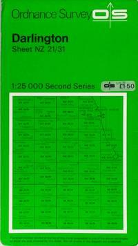 Second Series map sheet NZ21/31 Darlington
