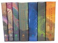 Harry Potter, in Seven Volumes: Harry Potter and the Sorcerer's Stone; Harry Potter and the Chamber of Secrets; Harry Potter and the Prisoner of Azkaban; Harry Potter and the Goblet of Fire; Harry Potter and the Order of the Pheonix; Harry Potter and the Half-Blood Prince; Harry Potter and the Deathly Hallows