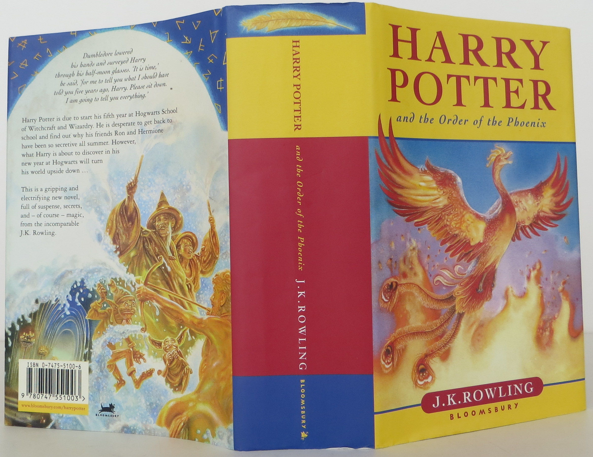 book report of harry potter and the order of the phoenix A brief synopsis and the ending will be revealed for the book - harry potter and the order of the phoenix.