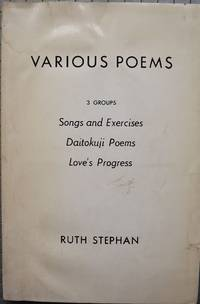 VARIOUS POEMS