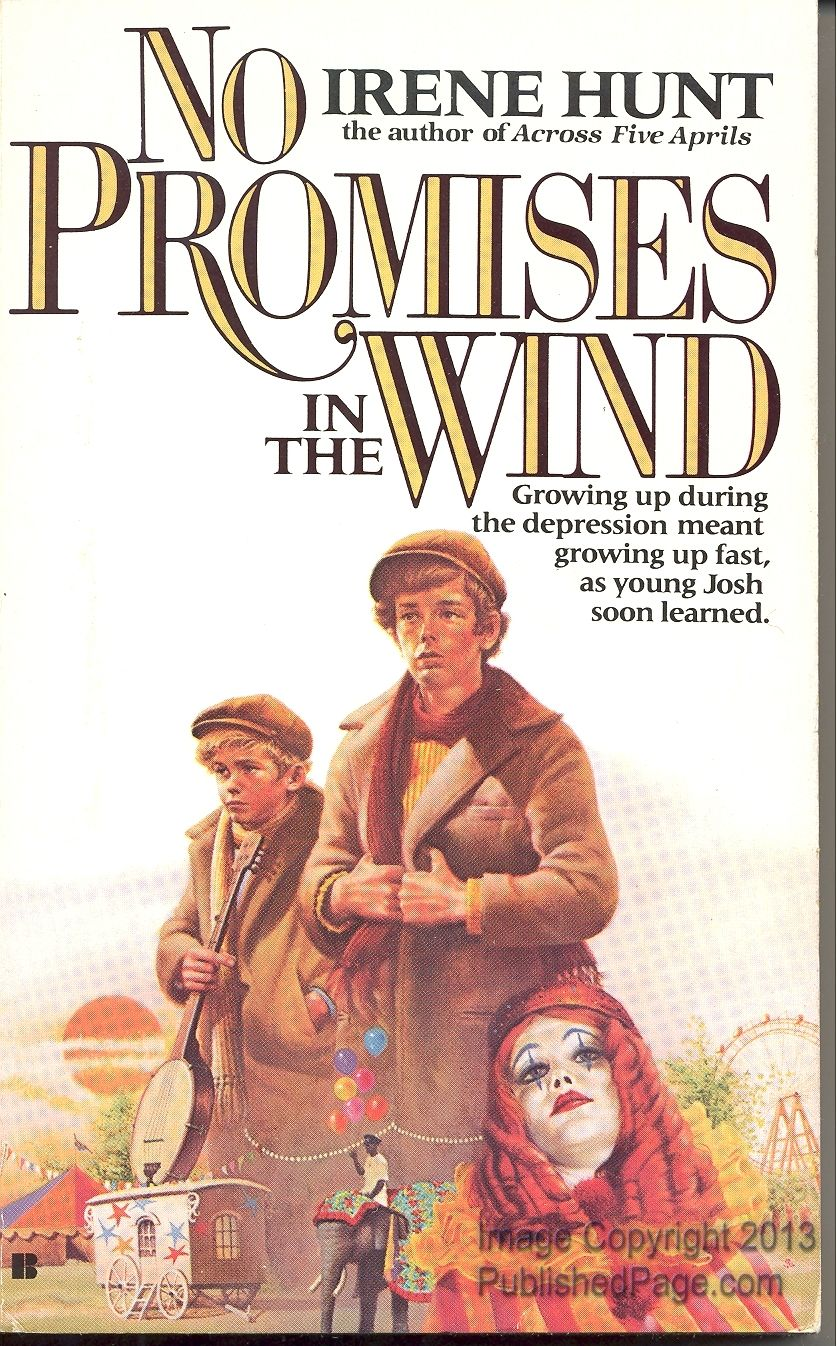 the changes in joshs character in promises in the wind a novel by irene hunt