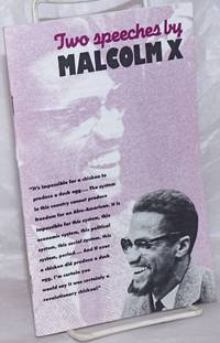 image of Two speeches by Malcolm X.