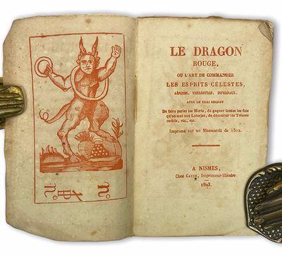 Le dragon rouge. A Nismes : Chez...