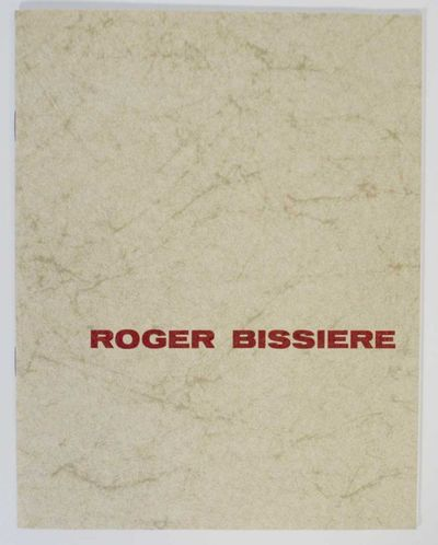 New York: World House Galleries, 1961. First edition. Softcover. 12 pages. Exhibition catalog for a ...