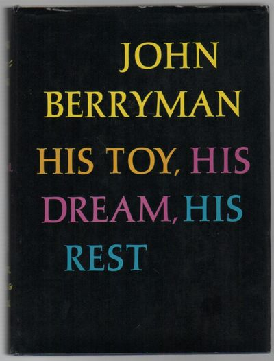 New York: Farrar, Straus & Giroux, (1968). First Edition. Hardcover. Very good +/very good. 8vo. Blu...