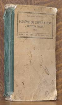 SCHEME OF SEPARATION IN THE CORPORATE LIMITS OF BOSTON, MASS... for the use of publishers, corrected to March 1, 1928.