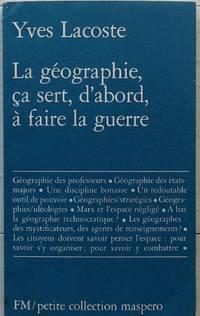 La geographie, ça sert, d'abord, à faire