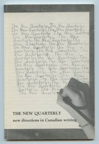image of The New Quarterly: new directions in Canadian writing, Winter 1987