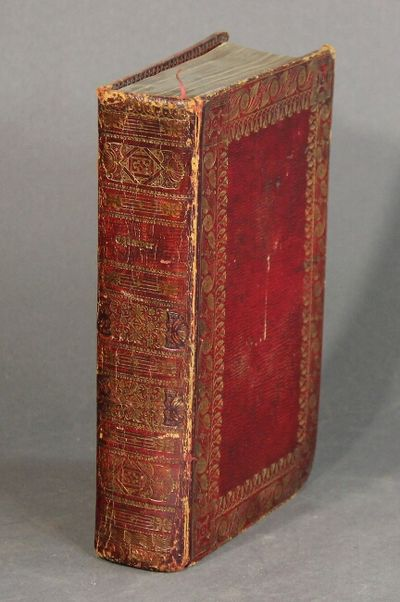 Oxford: printed at the Clarendon Press, by J. Cooke and S. Collingwood, 1820. Thick 8vo; inserted en...