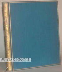Leipzig: Johann Ambrosius Barth, 1930. cloth. Barth, Johann Ambrosius. small 4to. cloth. 203+(1) pag...