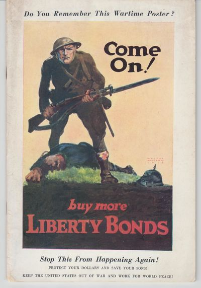 Philadelphia: Emergency Peace Campaign. 1937. First Edition; First Printing. Wraps, a liitle soiling...