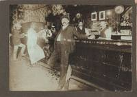 At the Bar - B & W Photograph