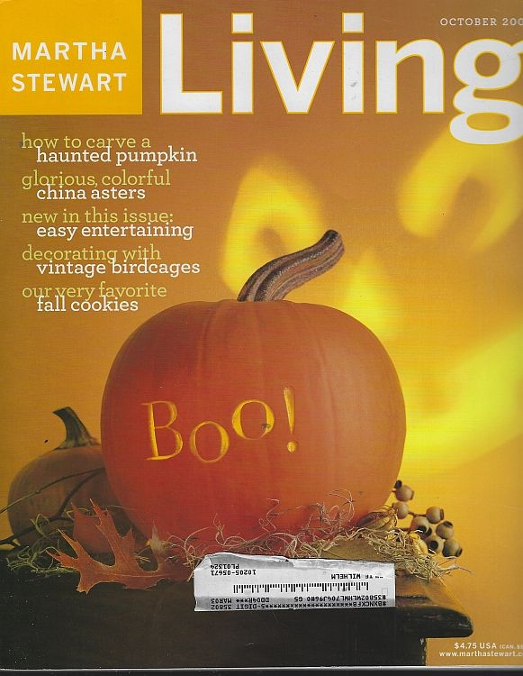Image for MARTHA STEWART LIVING MAGAZINE OCTOBER 2002