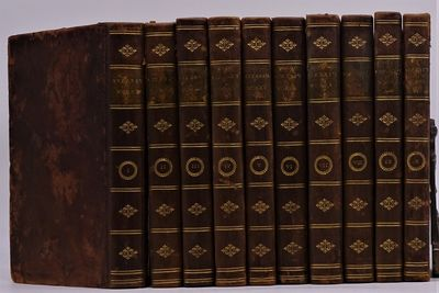 London: Printed for J. Johnson, G.G. And J. Robinson, T. Beckett et al. , 1798. Ten volumes in conte...