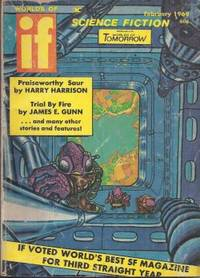 """IF Worlds of Science Fiction: February, Feb. 1969 (""""Six Gates from Limbo"""")"""