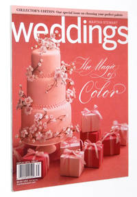 Martha Stewart Weddings Magazine, Collector's Edition, The Magic of Color, 2007
