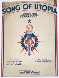 image of Song of Utopia. Offical song, Utopian Society