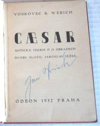 CAESAR: Anticka Feerie o 11 Obrazech. Hudbu Slozil Jaroslav Jezek.