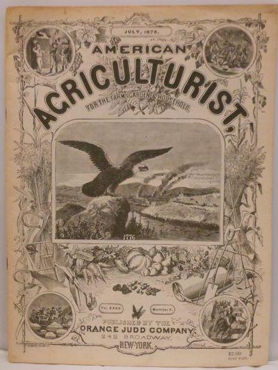 New York: Orange Judd Company, 1876. Staplebound wraps. Near fine. 4to; 242-280 pp; printed paper wr...