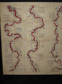 Ravenstein's, Oarsman's and Angler's Map of the River Thames. From its Source to London Bridge on a scale of one inch to a Mile