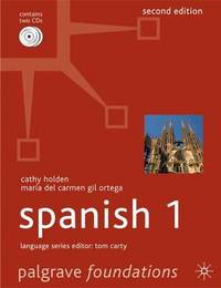 Foundations Spanish 1: Level 1 (Palgrave Foundation Series Languages) by  Maria del Carmen Gil Ortega - Paperback - from World of Books Ltd (SKU: GOR010910712)