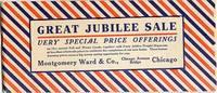 GREAT JUBILEE SALE - 1906 Special Catalog