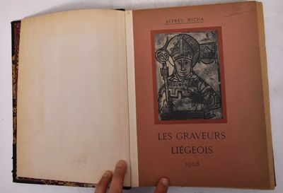 Liege: Imprimerie Benard, 1908. Hardcover. G+ moderate wear to edges and corners, scuffing and wear ...