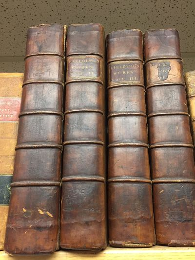 London: A. Millar, 1762. First Edition. 4 Large Quartos; G to VG-; Brown leather boards and spines w...